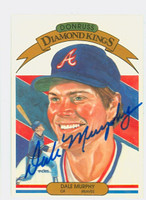 Dale Murphy AUTOGRAPH 1983 Donruss Diamond King #12 Braves 