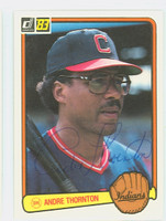 Andre Thornton AUTOGRAPH 1983 Donruss #211 Indians 