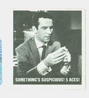 1966 Get Smart 60 Something's Suspicious? 5 Aces! Single Print Fair to Good
