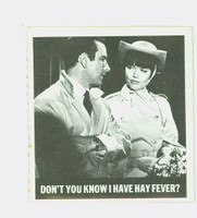 1966 Get Smart 65 Don't You Know I Have Hay Fever Single Print Fair to Poor