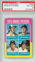 1975 Topps Mini Baseball 623 Rookie Infielders PSA 8 Near Mint to Mint