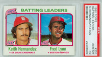 1980 Topps Baseball 201 Batting Leaders PSA 10 Gem Mint