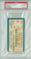 1936 Princeton Tigers College Football Ticket Stub vs Navy - Oct 24, 1936 PSA/DNA Authentic