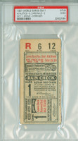 1931 World Series Athletics at Cardinals - Game 1 Ticket Stub PHI 6-2 WP Lefty Grove HR Al Simmons Good