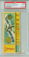 1948 Navy Midshipmen FULL Ticket vs Notre Dame Fighting Irish  - October 30, 1948 PSA/DNA Authentic