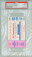 1973 NL Championship Mets at Reds GM 2 - Ticket Stub NY 5-0 WP Matlack HR Staub [Y73_BBPLAY_REDS2S_pa_114] PSA/DNA Authentic