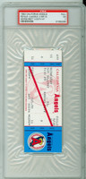 1992 California Angels Full Ticket vs Kansas City Royals GEORGE BRETT 3000th CAREER HIT - September 30, 1992 Near Mint