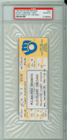 1992 Milwaukee Brewers Full Ticket vs Cleveland Indians ROBIN YOUNT 3000th CAREER HIT - September 9, 1992 PSA/DNA Authentic