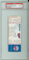 1995 Minnesota Twins Full Ticket vs Cleveland Indians EDDIE MURRAY 3000th CAREER HIT - June 30, 1995 PSA/DNA Authentic