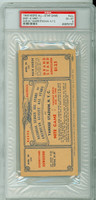 1948 Negro League All Star Game FULL TICKET - Yankee Stadium August 24, 1948 SCARCE Excellent to Mint