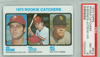 1973 Topps Baseball 613 Rookie Catchers High Number PSA 8 Near Mint to Mint