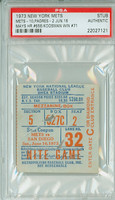 1973 New York Mets Ticket Stub vs San Diego Padres Willie Mays HR #656 Jerry Koosman Win #71  - June 16, 1973 PSA/DNA Authentic