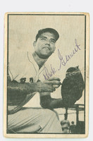 Dick Gernert AUTOGRAPH 1953 Bowman Black #11 Red Sox CARD IS F/P; CREASES