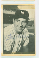 Irv Noren AUTOGRAPH 1953 Bowman Black #45 Yankees CARD IS F/P, TAPE FR SCRAPBOOK