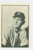 1953 Bowman Black Baseball 15 Johnny Mize St. Louis Cardinals Good to Very Good