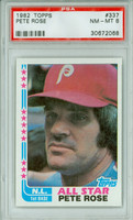 1982 Topps Baseball 337 Pete Rose AS
