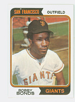 1974 Topps Baseball 30 Bobby Bonds San Francisco Giants Near-Mint
