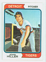 1974 Topps Baseball 24 John Hiller Detroit Tigers Near-Mint to Mint