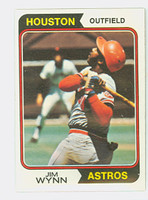 1974 Topps Baseball 43 Jim Wynn Houston Astros Near-Mint to Mint