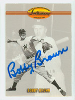 Bobby Brown AUTOGRAPH Ted Williams Yankees 