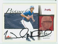 Wilson Betemit AUTOGRAPH 2002 Fleer Tradition Braves 