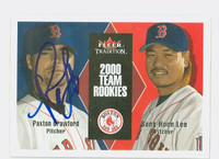 Paxton Crawford AUTOGRAPH 2000 Fleer Tradition Red Sox 