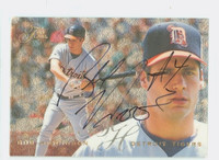 Bobby Higginson AUTOGRAPH 2005 Fleer Flair Tigers 