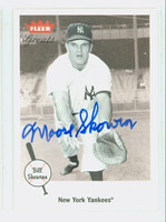 Bill Skowron AUTOGRAPH d.12 2002 Fleer GREATS Yankees 