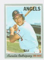 1970 Topps Baseball 228 Aurelio Rodriguez California Angels Near-Mint to Mint