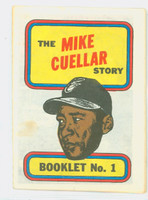 1970 Topps Story Booklets 1 Mike Cuellar Baltimore Orioles Very Good