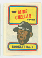 1970 Topps Story Booklets 1 Mike Cuellar Baltimore Orioles Excellent