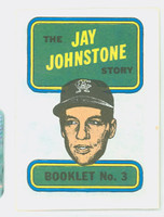 1970 Topps Story Booklets 3 Jay Johnstone California Angels Near-Mint