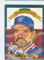 Dave Lopes AUTOGRAPH 1986 Donruss #9 Diamond King Cubs 