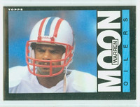 1985 Topps Football 251 Warren Moon ROOKIE Houston Oilers Near-Mint to Mint