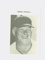 1969 Milton Bradley Baseball 225 Boog Powell Baltimore Orioles Excellent to Mint