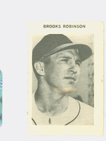 1969 Milton Bradley Baseball 235 Brooks Robinson Baltimore Orioles Excellent to Mint