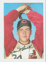 1969 Topps Super p Sam McDowell PROOF Cleveland Indians Near-Mint to Mint