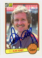 Alan Ashby AUTOGRAPH 1983 Donruss Astros 