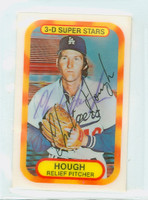 Charlie Hough AUTOGRAPH 1970s Kelloggs 1977 Dodgers 