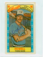Roy Howell AUTOGRAPH 1970s Kelloggs 1979 Blue Jays 