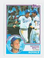 1983 Topps Baseball 600 George Brett Kansas City Royals Near-Mint to Mint