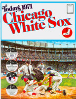 1971 Dell Official Stamp Booklet Chicago White Sox Near-Mint to Mint