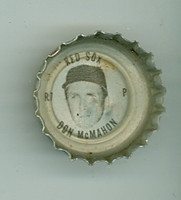 1967 Coke Caps Red Sox 7 Don McMahon Boston Red Sox Near-Mint