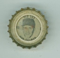 1967 Coke Caps Red Sox 10 Bob Tillman Boston Red Sox Near-Mint