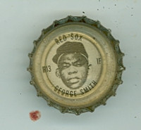 1967 Coke Caps Red Sox 13 George Smith Boston Red Sox Excellent to Mint