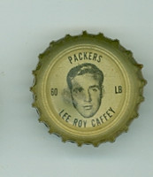 1964 Coke Football Packers 16 Lee Roy Caffey Green Bay Packers Good to Very Good