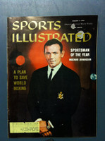 1960 Sports Illustrated January 4 Ingemar Johansson Very Good [Lt Moisture - contents fine]