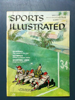 1960 Sports Illustrated March 7 Spring Preview Fair to Good [Lt Moisture - readable]