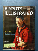 1960 Sports Illustrated June 27 Glenn Davis Fair to Poor [Heavy Moisture - readable]