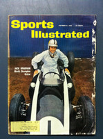 1960 Sports Illustrated October 31 Jack Brabham (Racing) Fair to Poor [Heavy moisture - readable throughout]